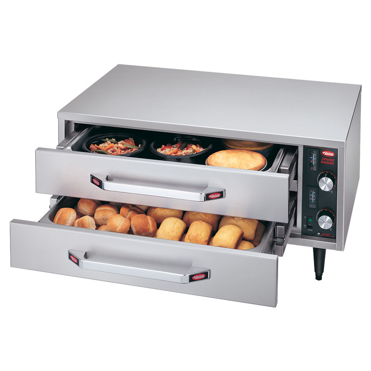 Hatco HDW-R2 Freestanding Split Drawer Warmer