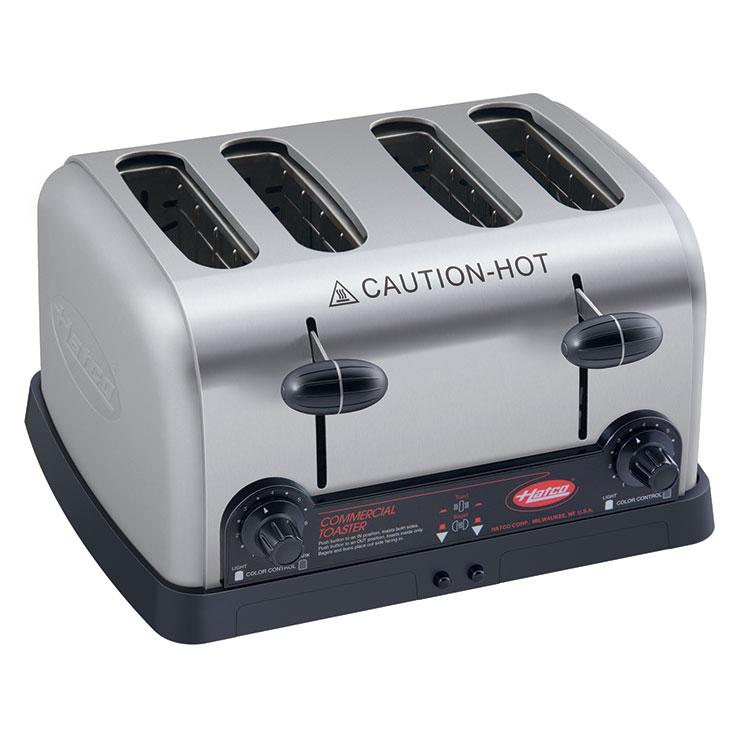4-Slot Commercial Pop-Up Toaster | Extra Wide Slots