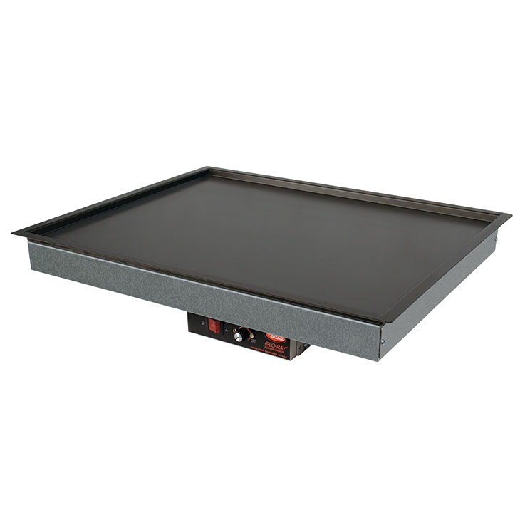Hatco GRSB Glo-Ray Built-In Recessed Top Heated Shelf