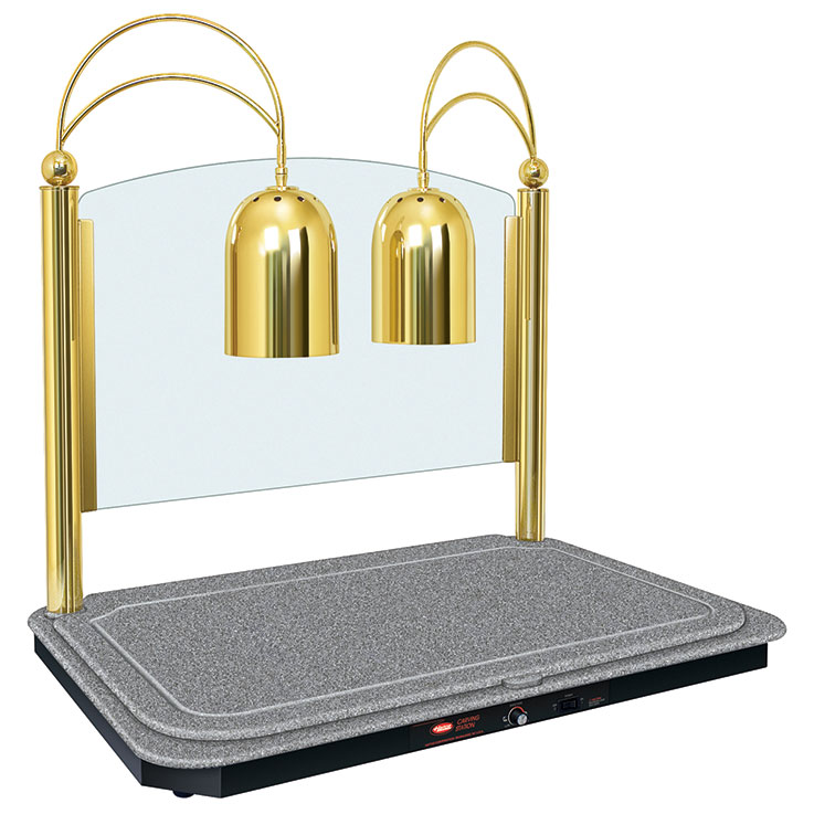 Hatco DCSB400-3624-2 Rectangular Heated Base Carving Station Lamp