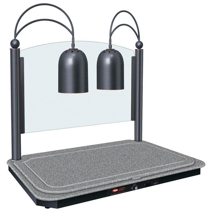 Lámpara para estaciones de corte con base calentada rectangular de HatcoDCSB400-3624-2