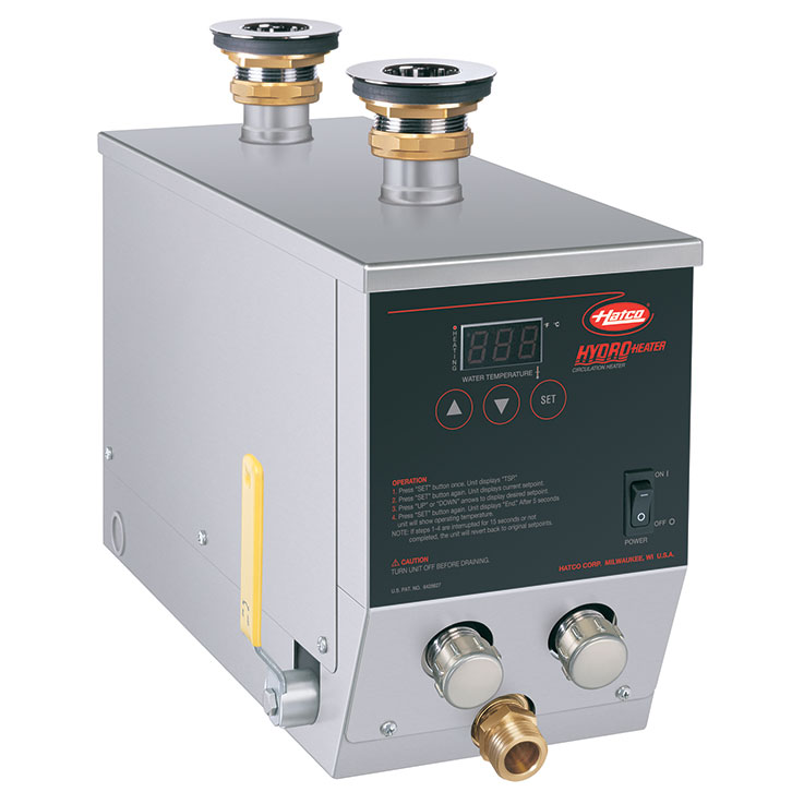 Bain-Marie Hydro-Heater Food Rethermalizer | Water Heater