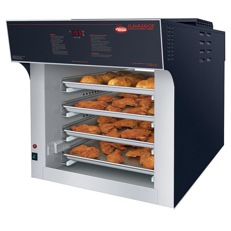 Hatco FS2HAC-4PT Flav-R-Savor Heated Air Curtain Cabinet