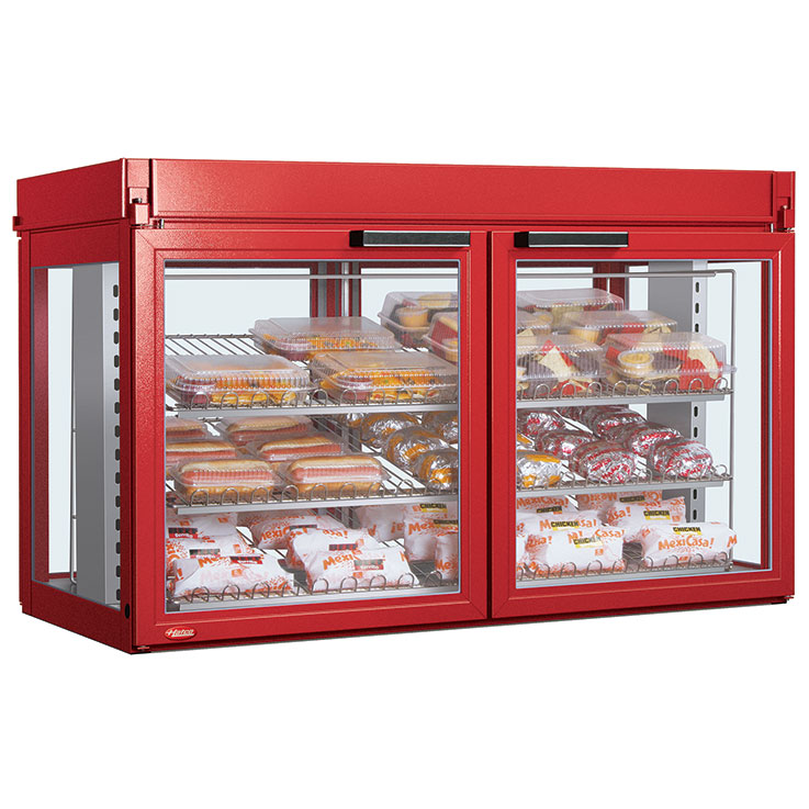 Hatco LFST Flav-R-Savor Non-Humidified Display Cabinet