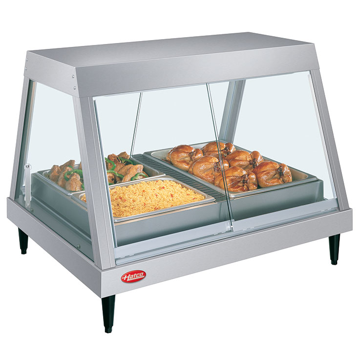 Hatco GRHDH Glo-Ray Heated Display Case with Humidity
