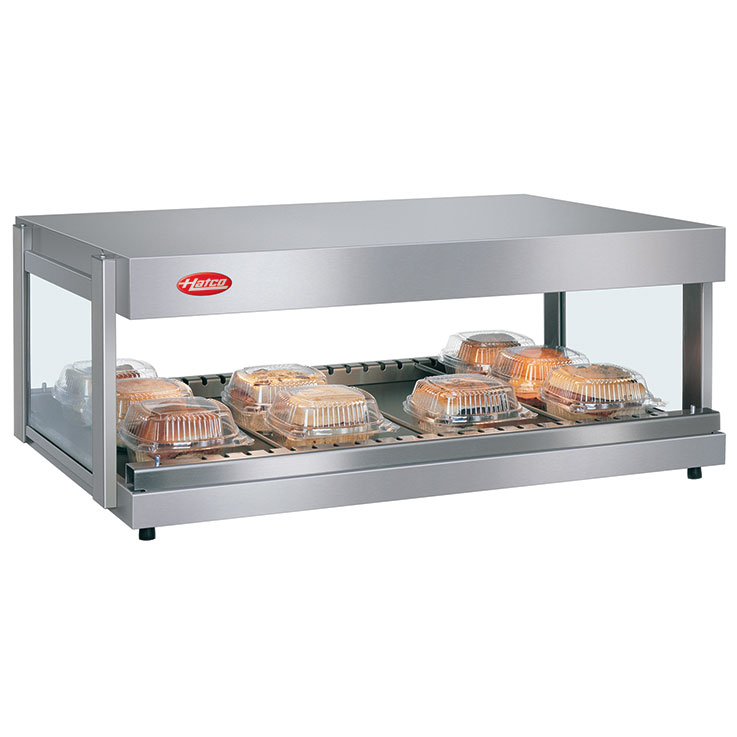 GRSDH Glo-Ray Merchandising Warmer | Single Shelf Foodwarmer