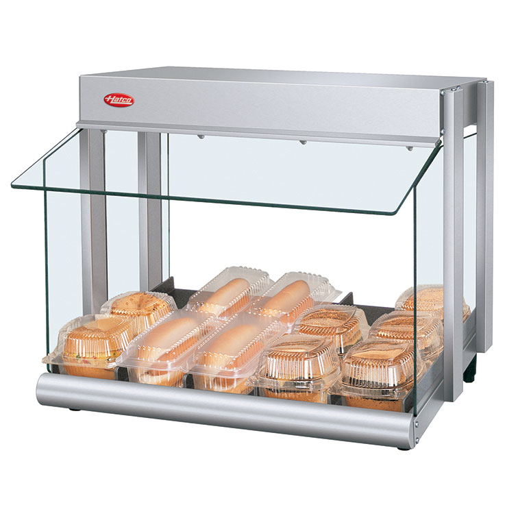 GRHW-xSGS Glo-Ray Mini-Merchandiser Hot Food Display