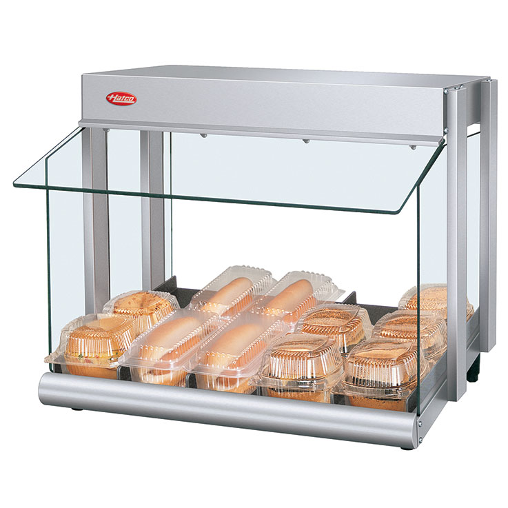 GRHW-1SGS Glo-Ray Mini-Merchandiser Hot Food Display