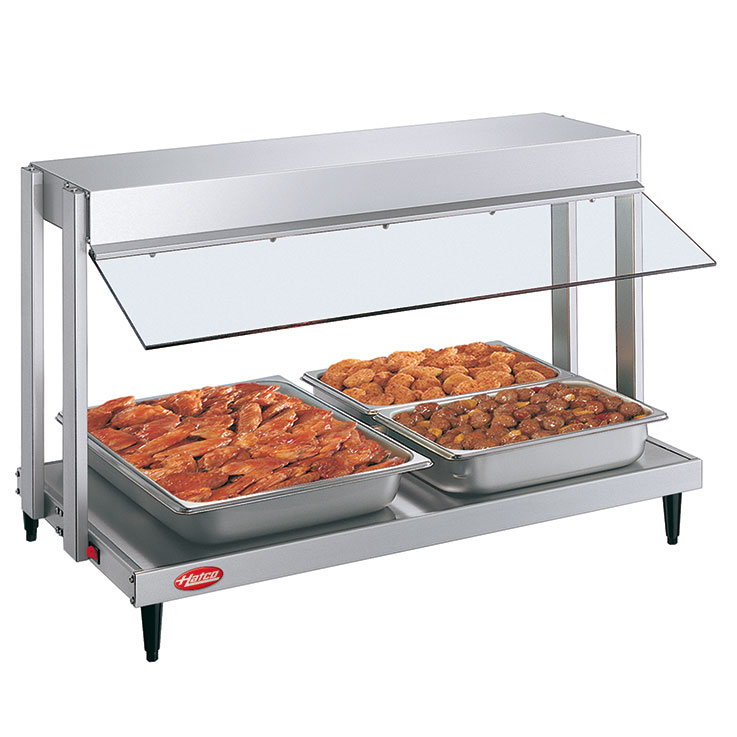 GRHW Glo-Ray Mini-Merchandiser Hot Food Server Display