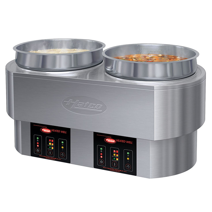 RHW Round Multi-Purpose Heated Well Foodwarmer