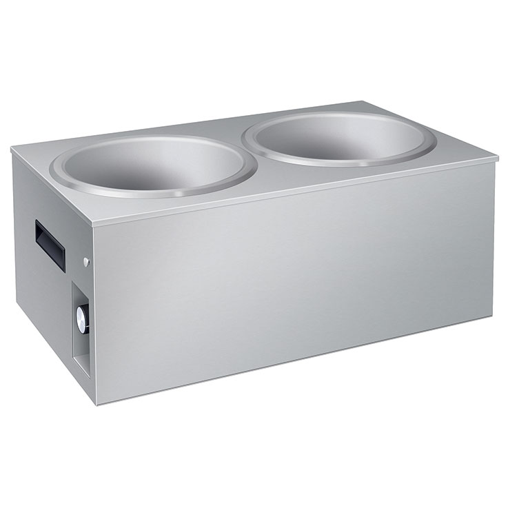 Double Heated Soup Station | 11 Quart Pans | SW2-11QT Soup Heater