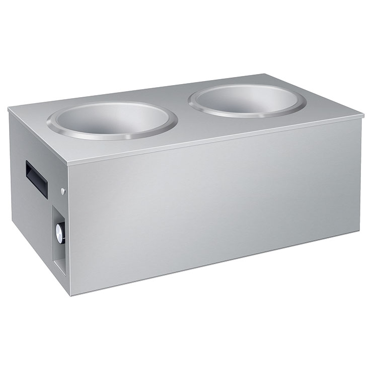 Hatco SW2-7QT Heated Soup Station | Double Cup Soup Well