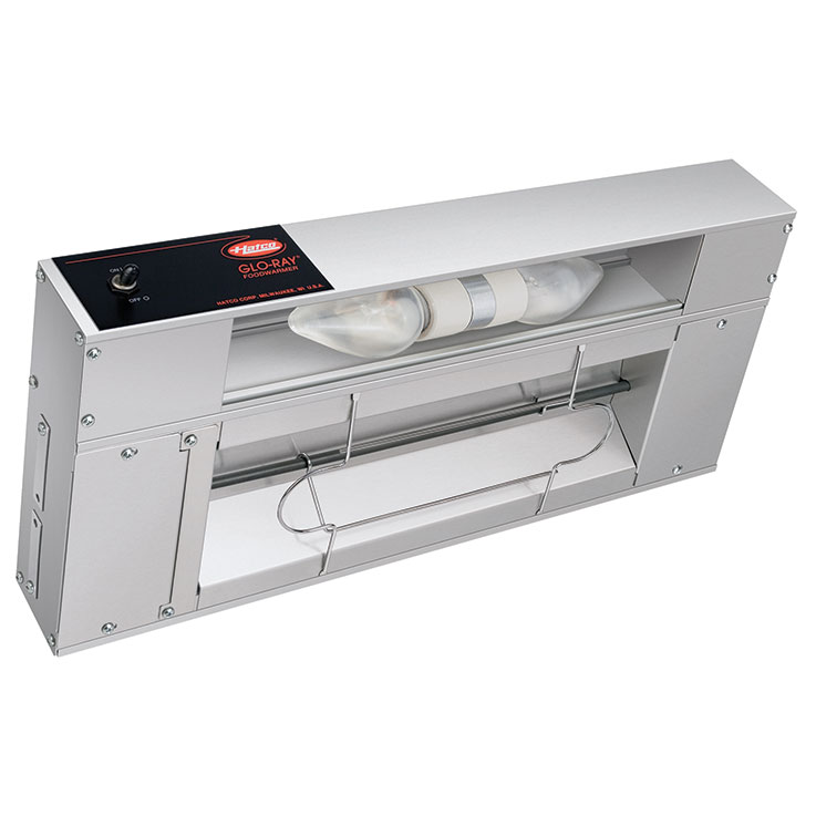 Hatco GRAL/GRAHL Glo-Ray Infrared Strip Heater with Lights
