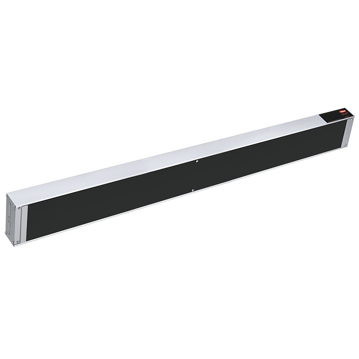 Hatco GRAIH Glo-Ray Infra-Black Aluminum Strip Heater