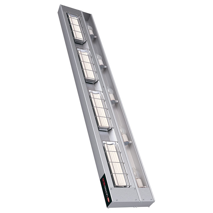 Ultra-Glo Ceramic Infrared Strip Heater with Lights