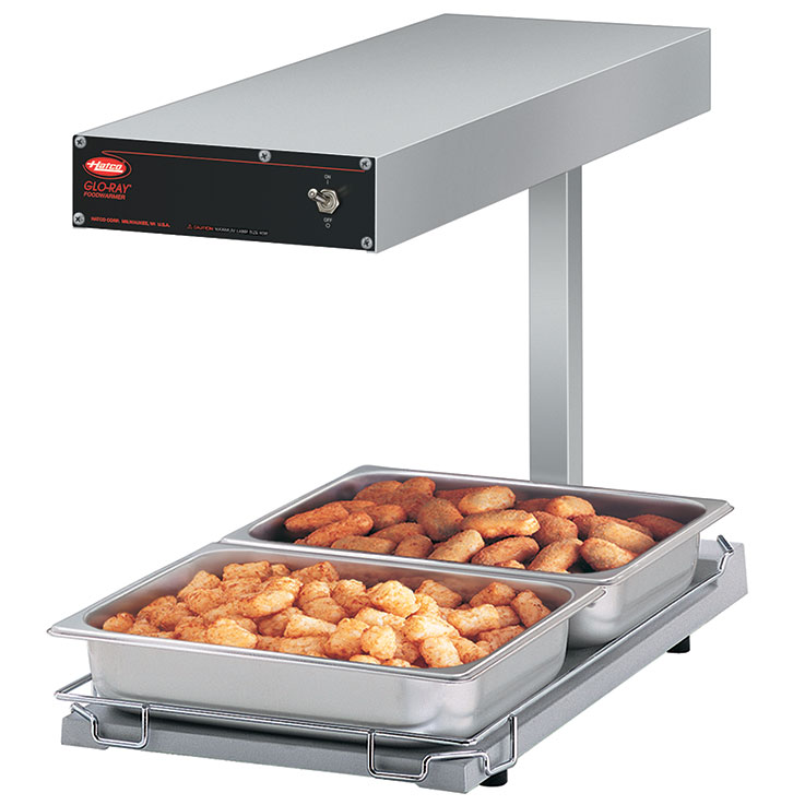 GRFFBL Glo-Ray Portable Foodwarmer | Hatco Corporation