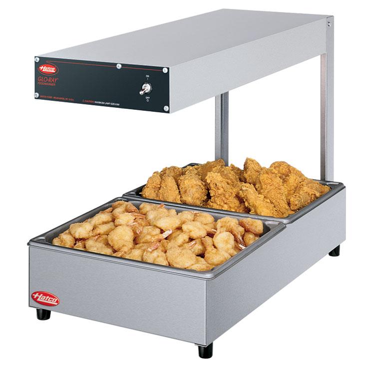 Hatco GRFFL Glo-Ray Portable Foodwarmer | Fry Station Warmer