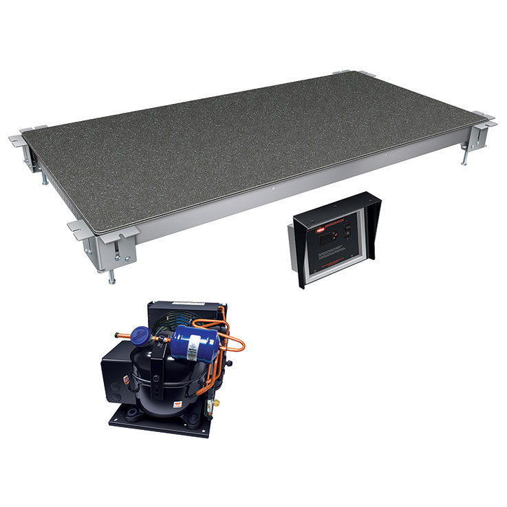 CSSBFR Remote Cold Simulated Stone Food Shelf from Hatco