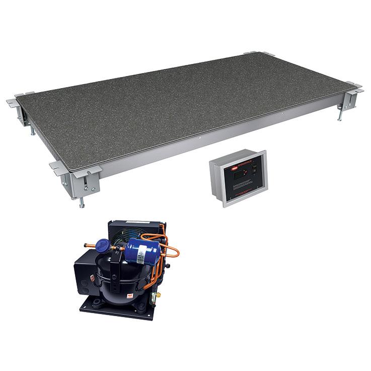 Hatco CSSBFR Remote Cold Simulated Stone Display Shelf