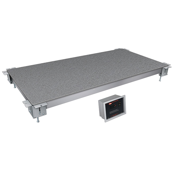 Hatco CSSBFX Remote Cold Simulated Stone Display Shelf