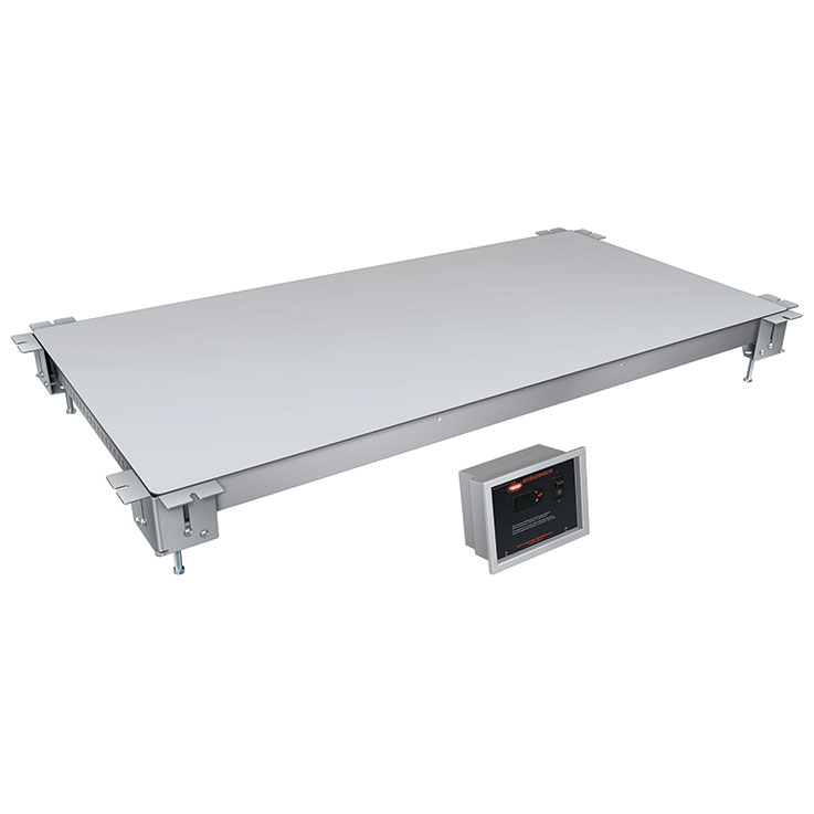 Hatco CSUX Remote Aluminum Undermount Cold Food Display Shelf