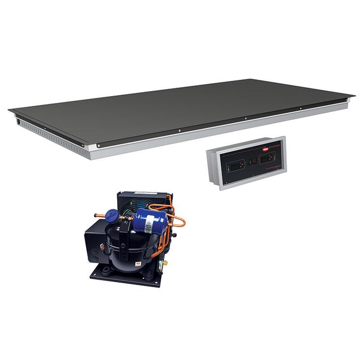 Hatco HCSBFR Remote Built-In Flush Top Hot & Cold Display Shelf