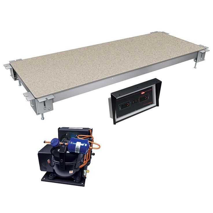 Hatco HCSSBR Remote Built-In Heated & Cold Food Shelf Display