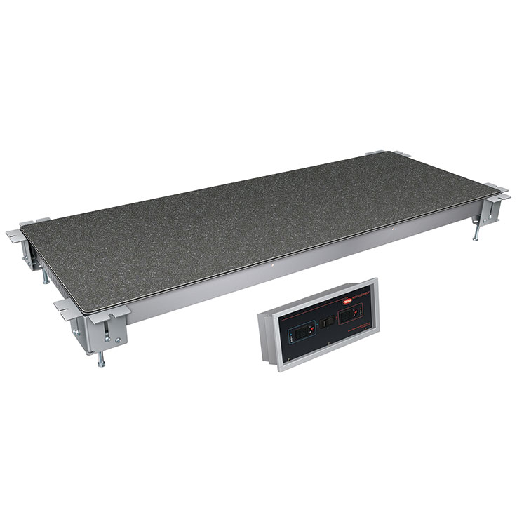 Hatco HCSSBX Remote Built-In Swanstone Heated & Cold Food Shelf
