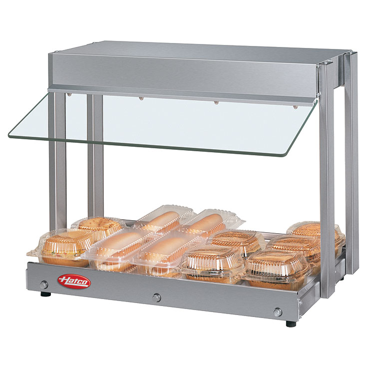 GRHW-1SG Glo-Ray Mini-Merchandiser Hot Food Server Display