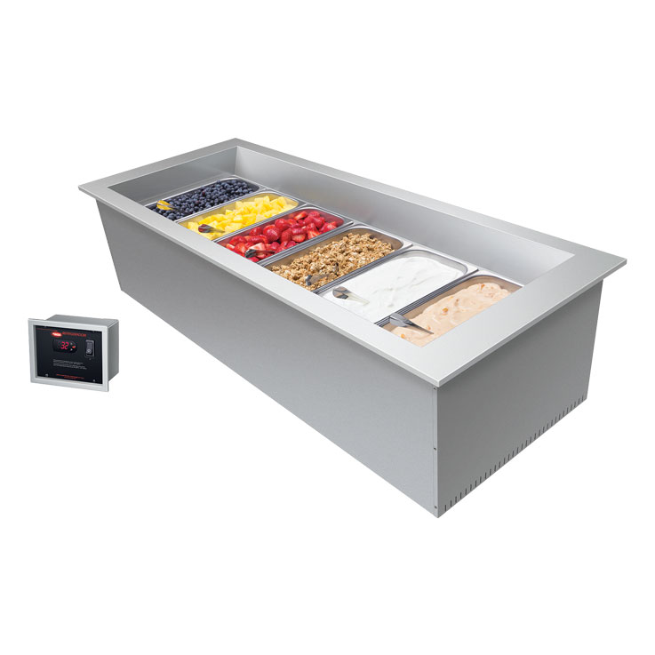 Hatco CWBX-S Remote Slim Refrigerated Drop-In Well