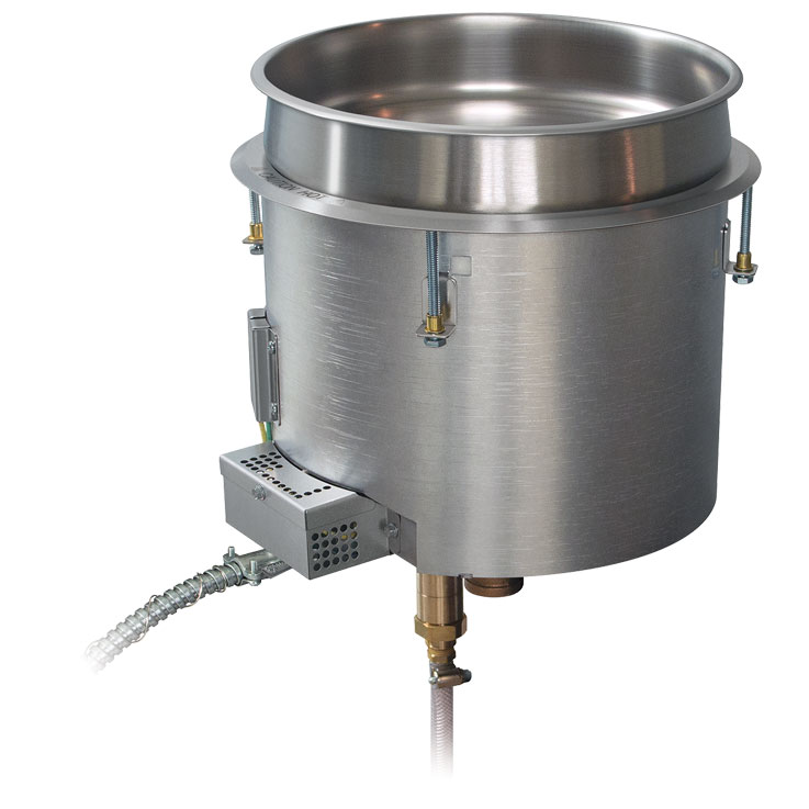 Hatco Insulated Round Hot Food Well | HWBI-QT Steam Well
