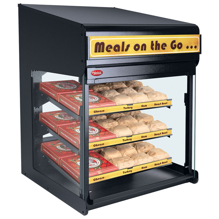 Hatco Flav-R-Savor Heated Air Curtain Cabinet | FS3HAC