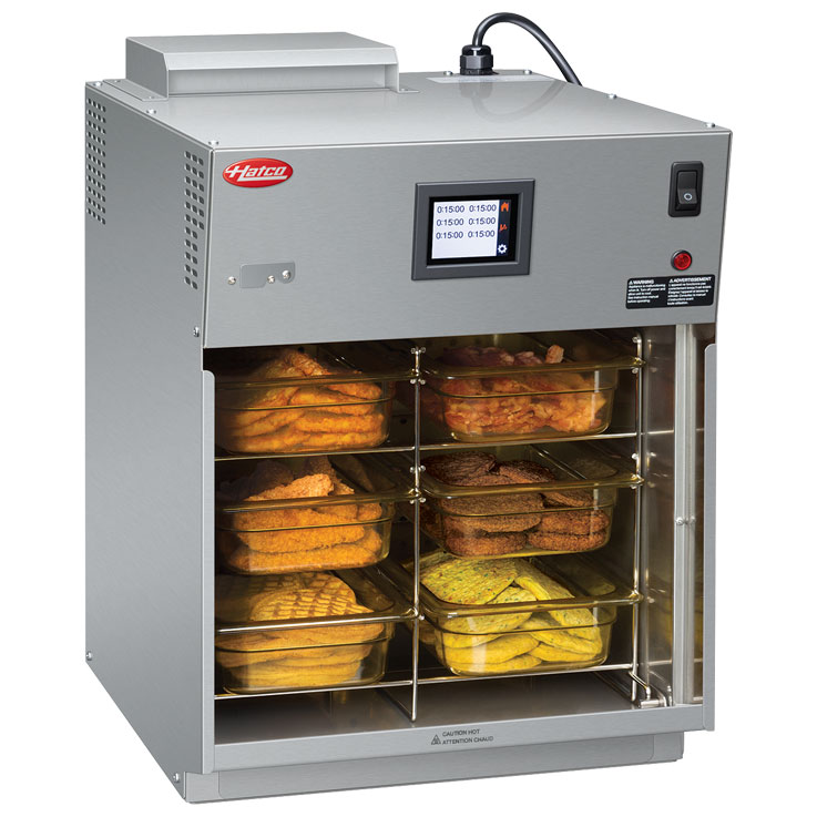 Hatco Flav-R-Savor Heated Air Curtain Cabinet | FS2HAC-15 Slot Holder