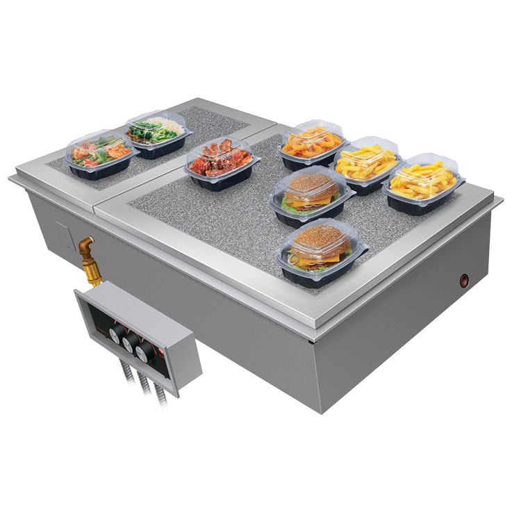 Hatco Drop-In Modular Steam Well | HWBI Hot Food Well