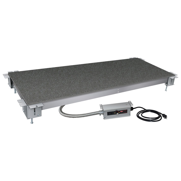 Hatco HSBF-SS Simulated Stone Heated Shelf   Built-In Food Warmers