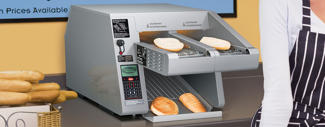 Hatco ITQ-1750-2C Intelligent Toast-Qwik Conveyor Toaster