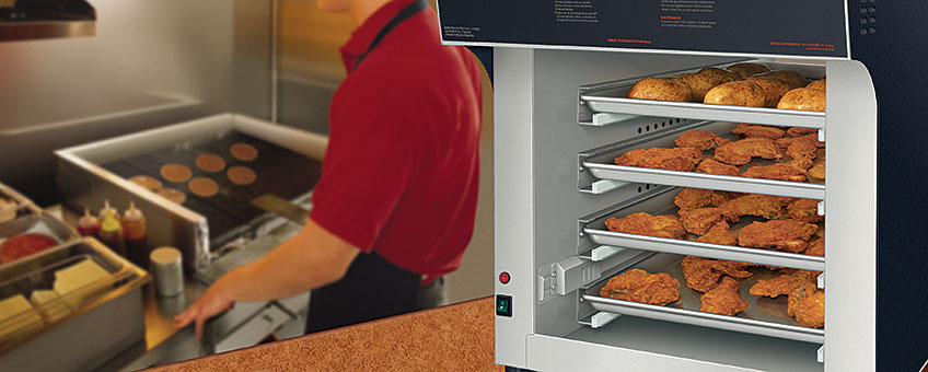 Heated Air Cabinet Food Warmers | Warm Air Curtains