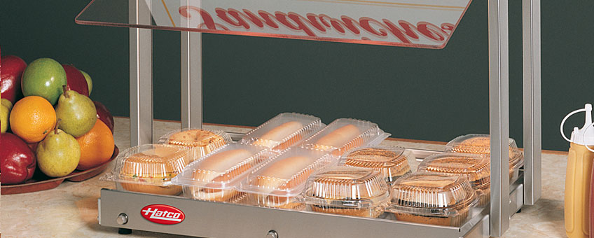 Mini Hot Food Merchandisers | Hatco Foodwarmer Display Units