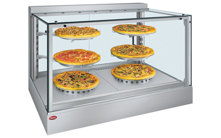 The Intelligent Heated Display Cabinet Keeps Your Customers' Attention on the Food – Guaranteed