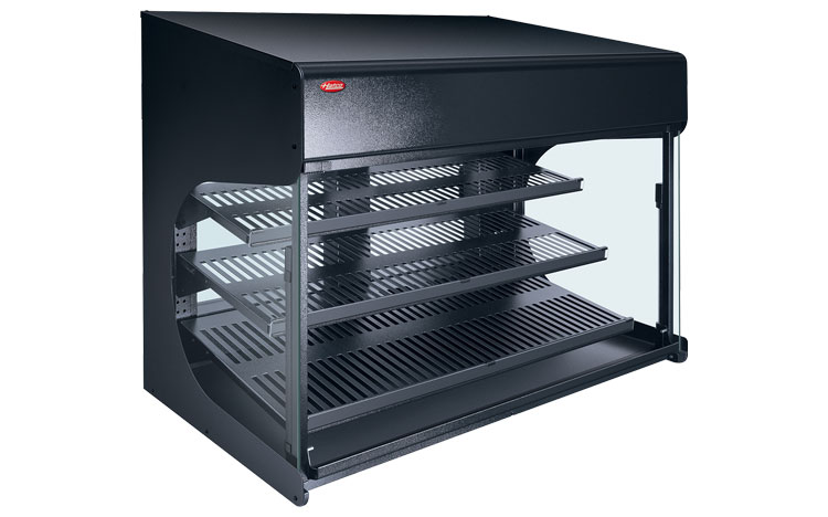 "Take ""Show & Sell"" Merchandising to a New Level with Hatco's Flav-R-Savor® Heated Air Curtain Cabinet"