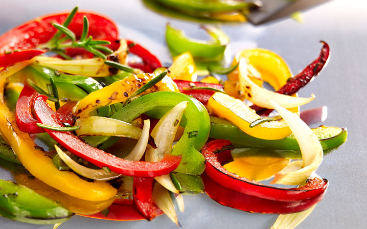 Peppers Fricassee