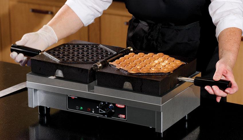 KWM18-BU Bubble Waffle Machine | Krampouz Bubble Waffle Maker