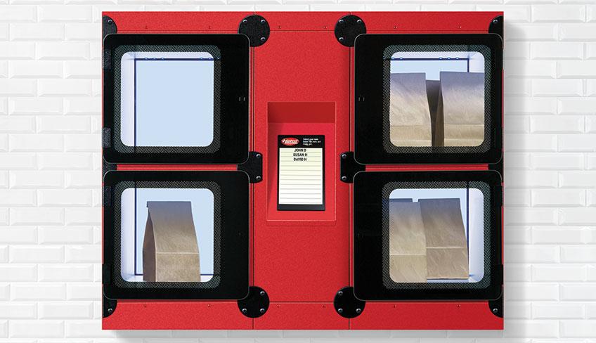 Hatco F2GB Flav-R 2-Go Food Holding Locker | Built-In Locker