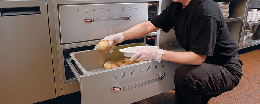 Commercial Built-In Warming Drawers | Food Drawer Warmers