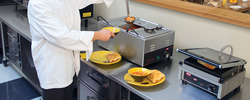 Countertop Food Warmers | Countertop Hot Food Wells
