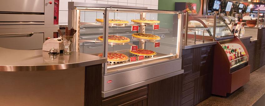 Hatco Hot Food Merchandisers | Heated Food Display Cases