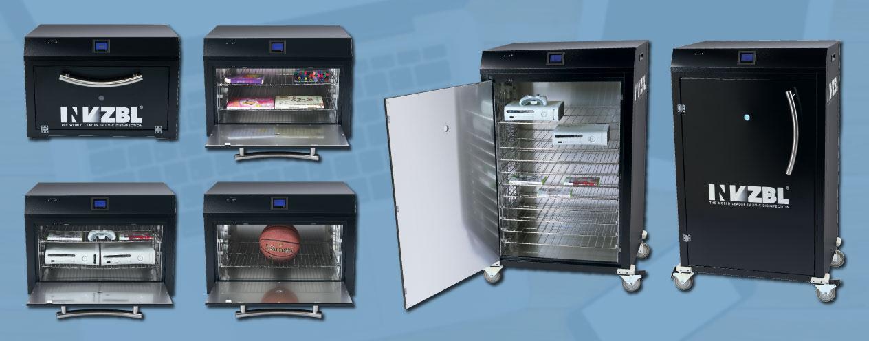 INVZBL UV-C Cabinets | UV-C Disinfection