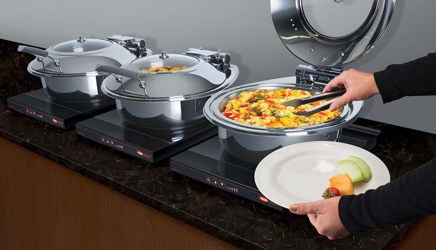 Countertop Induction Food Warmer | Palletti Daisy Chain IWRM-CD1 | Hatco