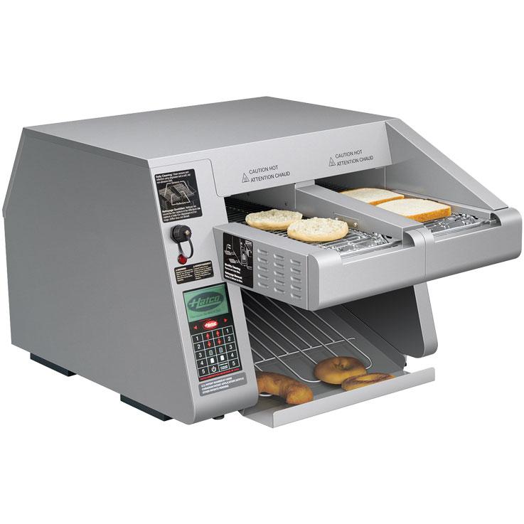 Hatco Intelligent Toast Qwik Conveyor Toaster Itq 1000 1c