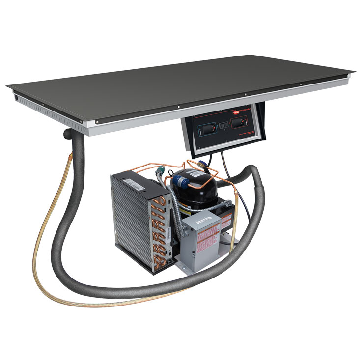 Hatco Built In Heated Amp Cold Food Display Shelves